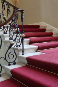 Geschmiedetes Treppengelnder